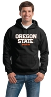 Oregon State Beavers Basic Hooded Sweatshirt - Black