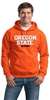 Oregon State Beavers Basic Hooded Sweatshirt - Orange