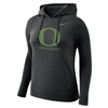 Oregon Ducks Nike Women's Club Hoodie Black