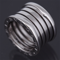 Bvlgari B Zero 1 5 Band Ring White Gold