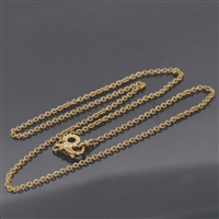 Bvlgari B Zero Chain Necklace Yellow Gold