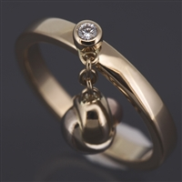 Cartier Baby Trinity Ring 3 Gold