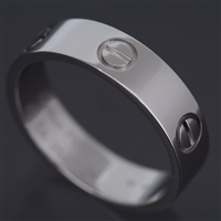 Cartier Love Ring Platinum Size 60