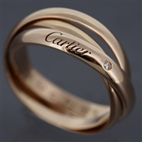 Cartier Rose Gold '09 Limited Trinity Ring
