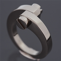 Cartier Menotte Ring White Gold
