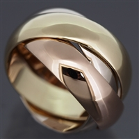 Cartier 3 Bands Trinity Ring Large Model 3 Gold