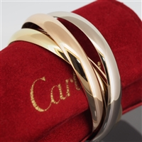 Cartier Trinity Bangle Tri Color Gold LM