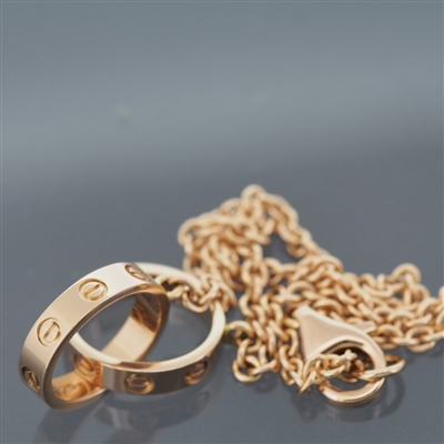 Cartier Baby Love Bracelet Rose Gold