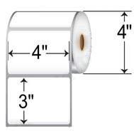 "4.00 X 3.00 4"" OD Rolls Direct Thermal for Eltron, Cognitive-Semi-Top"