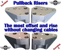 2 inch Pullback Risers