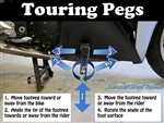 Adjustable Touring Pegs