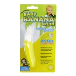 The Original Baby Banana Brush Toddler Training Toothbrush (Banana Brush)