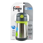 Foogo Vacuum Insulated Straw Bottle Tripoli - 10 oz. (Thermos)