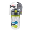Foogo Plastic Straw Bottle Tripoli - 11 oz. (Thermos)