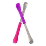Swap 2-in-1 Feeding Spoon Pink/Purple - 2 pack (Boon)