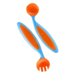 Benders Adaptable Utensils - Blue/Orange (Boon)