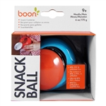 Snack Ball Snack Container - Blue/Orange (Boon)