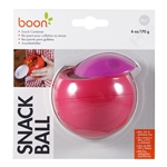 Snack Ball Snack Container - Pink/Purple (Boon)