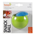Snack Ball Snack Container - Green/Blue (Boon)