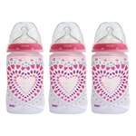 Trendline Tie Dye Orthodontic Bottle 3 pack - 5 oz. (NUK)