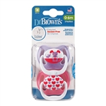 PreVent Pacifiers Stage 1 - 0-6 months (Dr. Brown's)