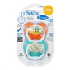 PreVent Orthodonic Pacifier 6-12m - 2 Pack (Dr. Brown's)
