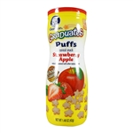 Graduates Puffs Strawberry Apple 6 pack - 1.48 oz. (Gerber)