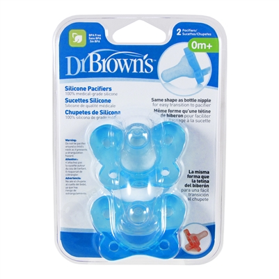 Silicone Pacifier 2 Pack 0m+ (Dr. Brown's)