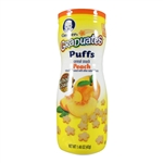 Graduates Puffs Peach 6 pack - 1.48 oz. (Gerber)