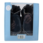 Premium Leather Classic Moccasin Soft Soles 6-12 months - Navy (Robeez)