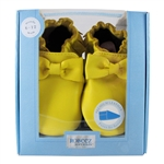 Premium Leather Maggie Moccasin Soft Soles 6-12 months - Yellow (Robeez)