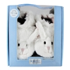 Fuzzy Bunny Soft Soles 12-18 months - White (Robeez)