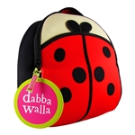 Cute as a LadyBug Backpack (Dabbawalla)