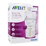 Breast Milk Storage Bags - 50 bags (Philips Avent)