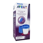 Breast Milk Storage Cups - 5 cups (Philips Avent)
