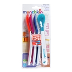 White Hot Infant Safety Spoons - 4 pack (Munchkin)