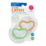LATCH Lightweight Pacifiers 2 Pack 3m+ (Munchkin)