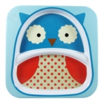Zoo Divided Plate Owl (Skip Hop)