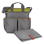 Duo Signature Diaper Bag Charcoal/ Lime (Skip Hop)