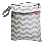 Grab & Go Wet/Dry Bag Chevron (Skip Hop)