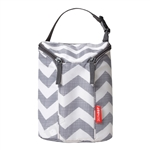Grab & Go Double Bottle Bag Chevron (Skip Hop)