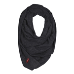 Grab & Go Hide & Chic Nursing Scarf Black Heather (Skip Hop)