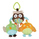 Treetop Friends Owl & Friends Ball Trio (Skip Hop)
