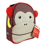 Zoo Lunchies Insulated Lunch Bag Monkey (Skip Hop)
