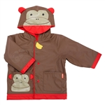 Zoo Rain Coats Monkey Large - Size 5-6 (Skip Hop)