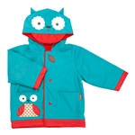 Zoo Rain Coats Owl Medium - Size 3-4 (Skip Hop)