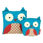 Zoo Reusable Sandwich & Snack Bag Set Owl (Skip Hop)