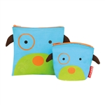 Zoo Reusable Sandwich & Snack Bag Set Dog (Skip Hop)