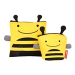 Zoo Reusable Sandwich & Snack Bag Set Bee (Skip Hop)
