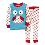 Zoojamas Little Kid Pajamas Owl 3T (Skip Hop)